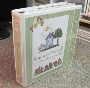 Make a Household Planner Notebook: Choosing a Cover - Spring