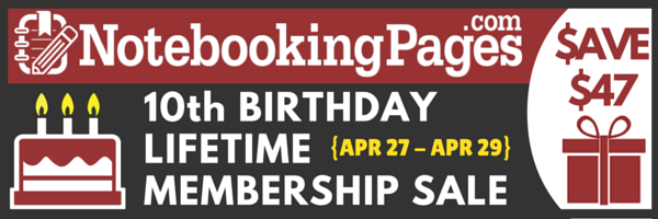 10th Birthday Membership Sale Event