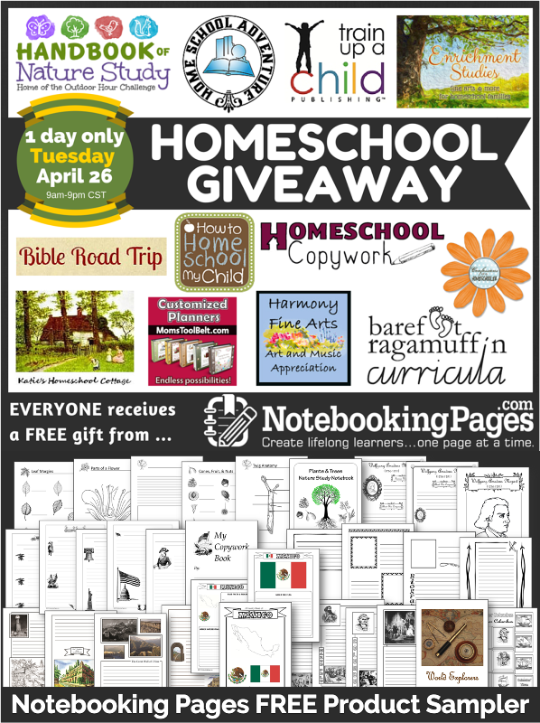 10th Birthday Homeschool Giveaway