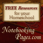 Free Homeschool & Notebooking Resources