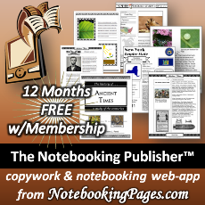 The Notebooking Publisher web-app