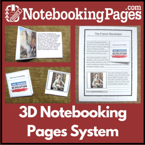 3D Notebooking Pages & Mini-Books