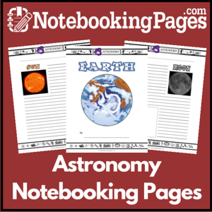 Astronomy Notebooking Pages