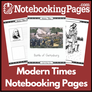 Modern Times Notebooking Pages