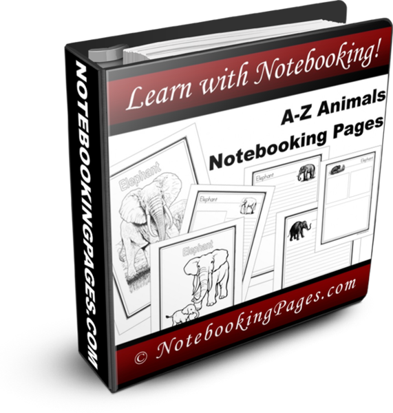 A-Z Animal Notebooking Pages