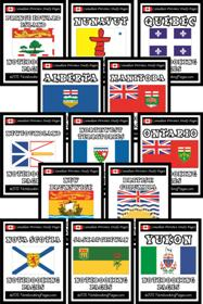 Individual Canadian Provinces: