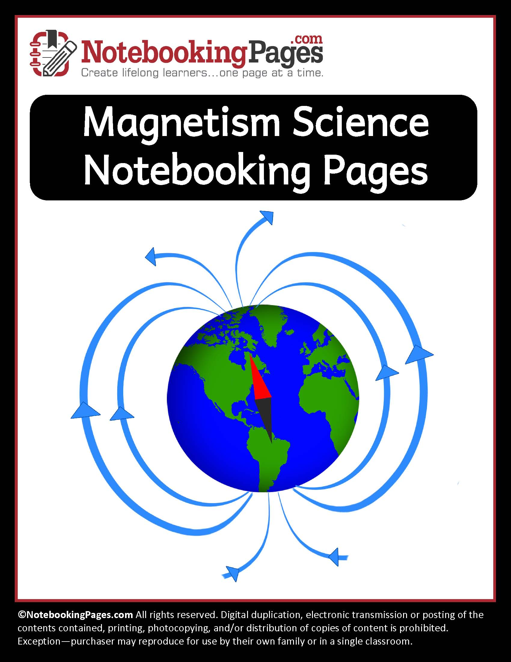 Magnetism Notebooking Pages