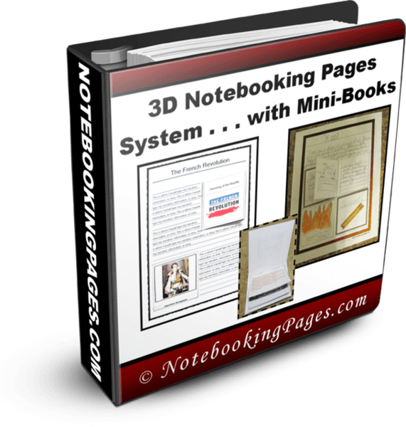Free Tutorial Gift 3 D Notebooking Pages Templates And Mini Books