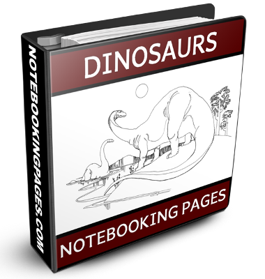 Nature Study Notebooking Pages - Dinosaurs