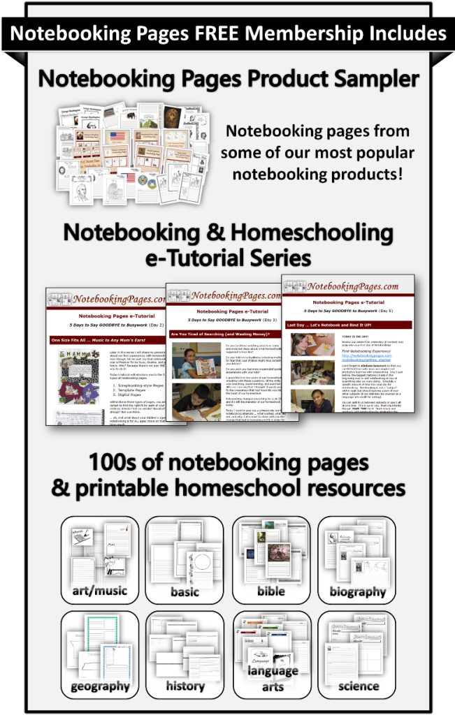 Free Notebooking Pages Member Sign Up