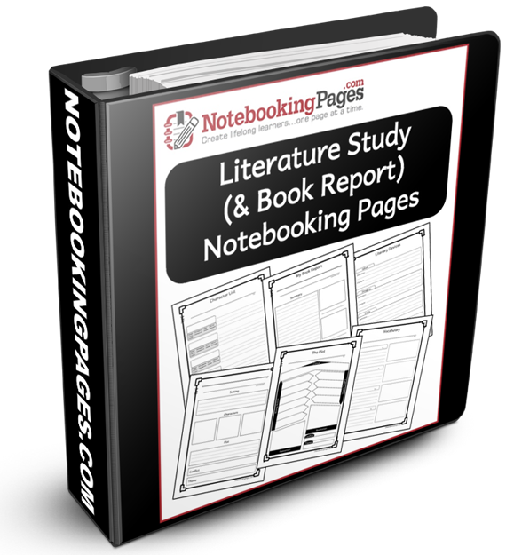 Literature Study And Book Report Notebooking Pages