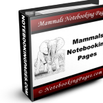 Mammals Notebooking Pages