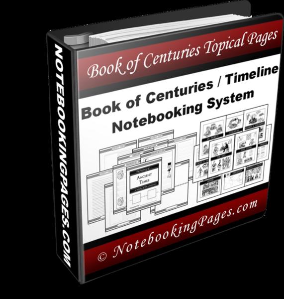 history timeline notebooking system