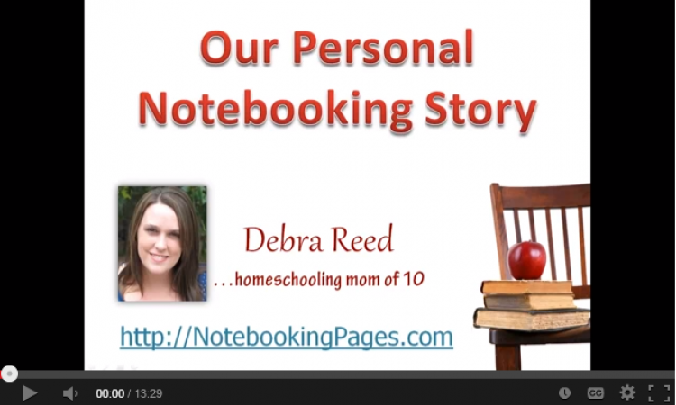 Our Personal Notebooking Story
