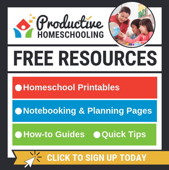 Free Resources - Productive Homeschooling