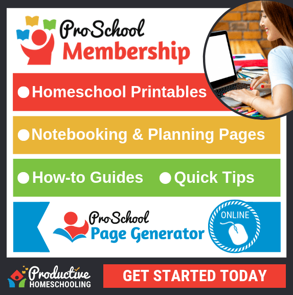 ProSchool Membership - Productive Homeschooling