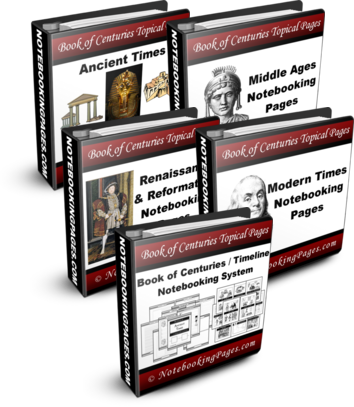 [BUNDLED] History Complete Notebooking Collection