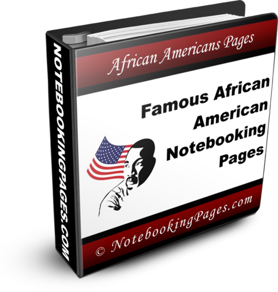 Famous African Americans Notebooking Pages