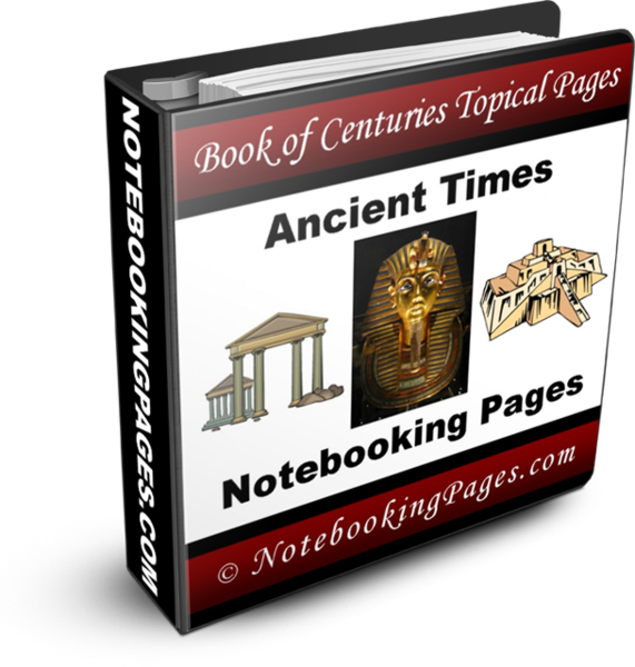 Ancient Times Notebooking Pages