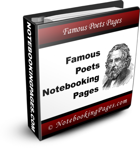 Famous Poets Notebooking Pages