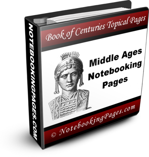 Middle Ages Notebooking and Coloring Pages
