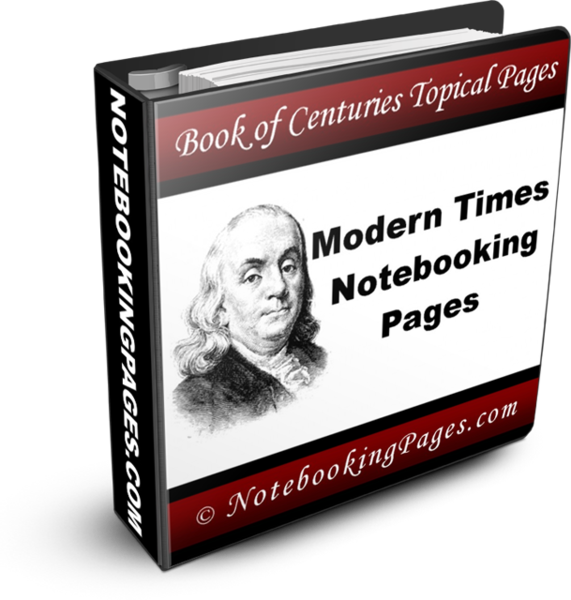 Modern Times Notebooking and Coloring Pages