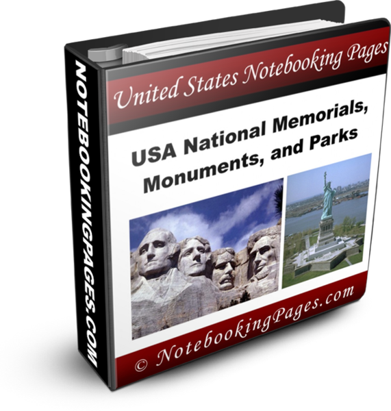 USA National Monuments, Memorials, and Parks