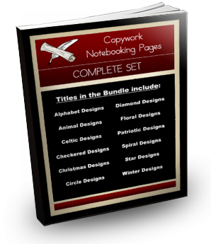 [BUNDLE] Copywork Notebooking Pages Complete Set