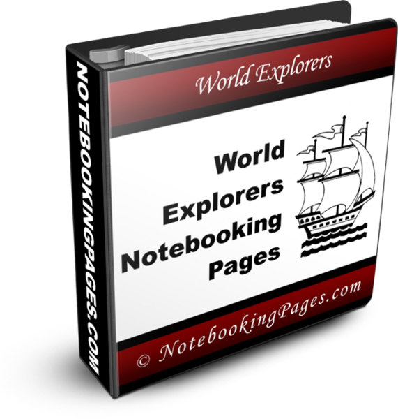 World Explorers Notebooking Pages