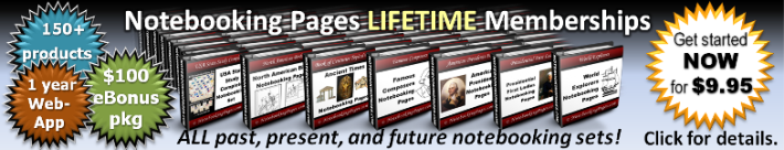 Notebooking Pages LIFETIME Memberships